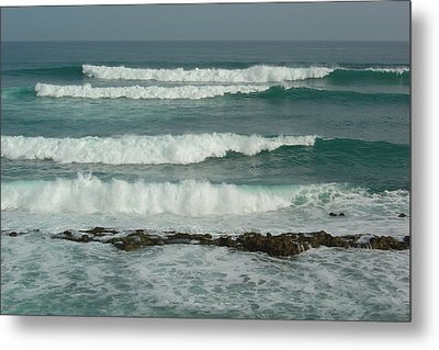 Breaking Waves Puerto Rico Metal Print by Patty Vicknair