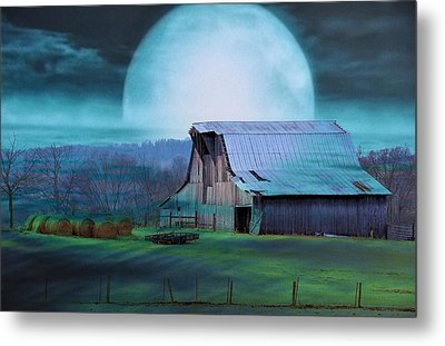 Breath Of Winter Metal Print by Jan Amiss Photography