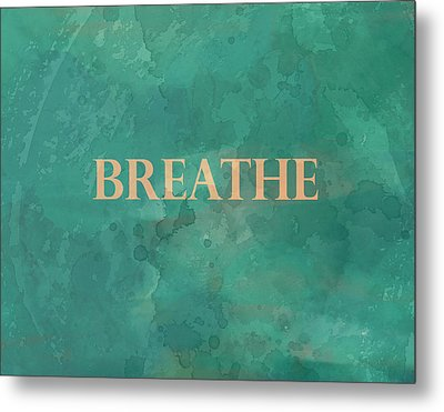 Metal Print featuring the digital art Breathe by Ann Powell