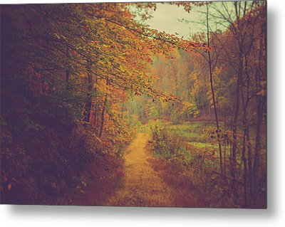 Metal Print featuring the photograph Breathe In Autumn by Shane Holsclaw