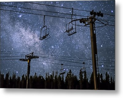 Breckenridge Milky Way Metal Print