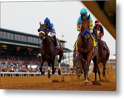 Breeder's Cup 1 Metal Print by Lone Dakota Photography