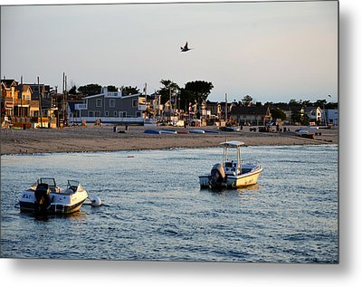 Breezy Point Bayside 2 Metal Print by Maureen E Ritter