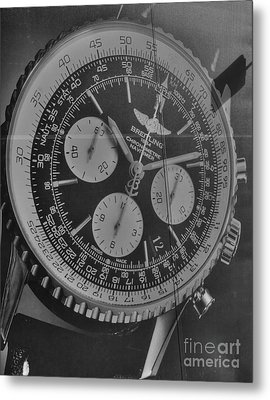 Breitling Chronometer Metal Print