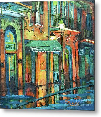 Metal Print featuring the painting Brennan's by Dianne Parks