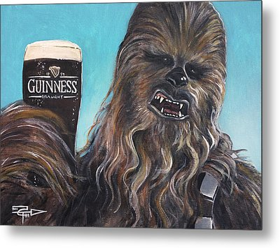 Brewbacca Metal Print by Tom Carlton