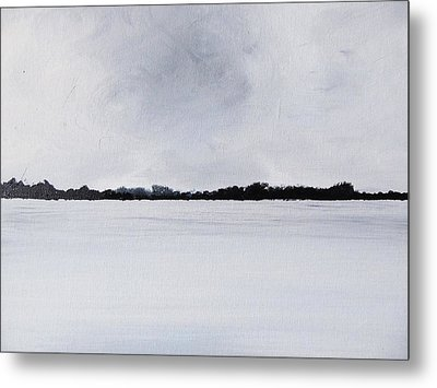 Brewing Storm Beyond The Irish Waters Metal Print by Trilby Cole
