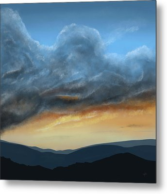 Brewing Up A Storm Metal Print by Mark Taylor