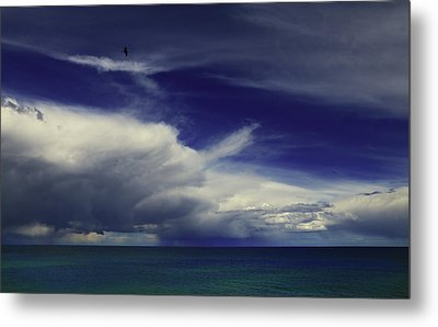 Metal Print featuring the photograph Brewing Up A Storm by Nareeta Martin