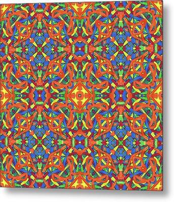 Brexit Soup -multi-pattern- Metal Print