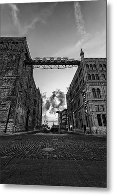 Bricks And Beer Metal Print