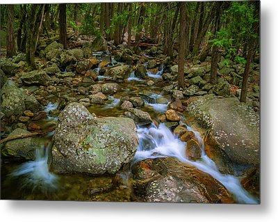 Bridalveil Creek Metal Print
