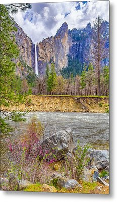 Metal Print featuring the photograph Bridalveil Fall  by Scott McGuire