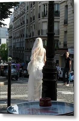 Bride Of Paris Metal Print