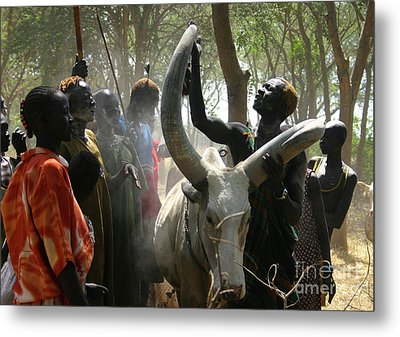 Bride Price Metal Print by Irene Abdou
