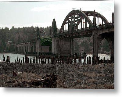 Bridge Deco Metal Print