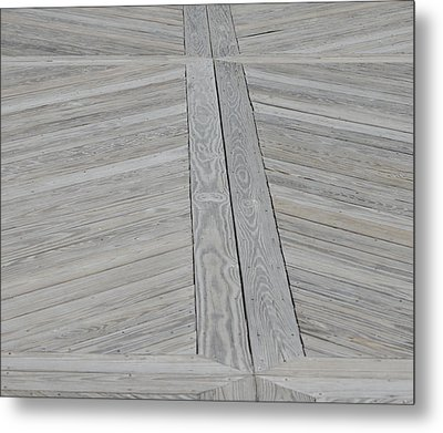 Bridge Floor Metal Print by Linda Geiger