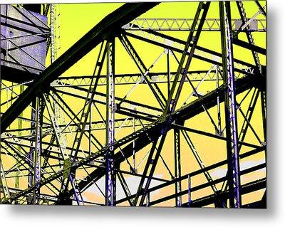 Bridge  Frame -  Ver. 2 Metal Print