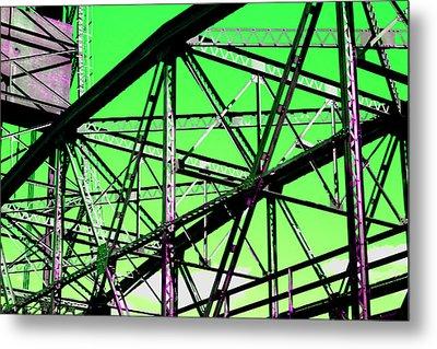 Bridge  Frame -  Ver. 3 Metal Print
