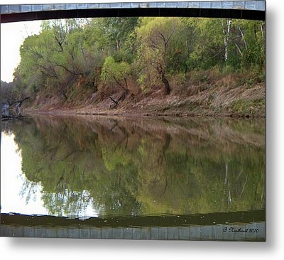 Metal Print featuring the photograph Bridge Frame by Betty Northcutt