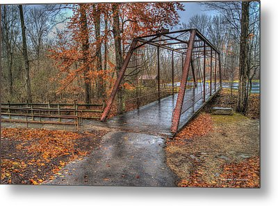 Bridge From The Past Metal Print by Wendell Thompson