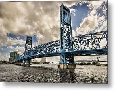 Bridge Of Blues Metal Print