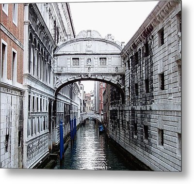 Bridge Of Sighs Metal Print