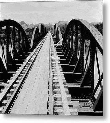 Bridge On The River Kwai Metal Print