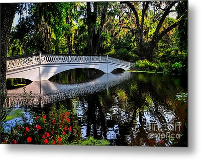 Bridge To Spring Metal Print
