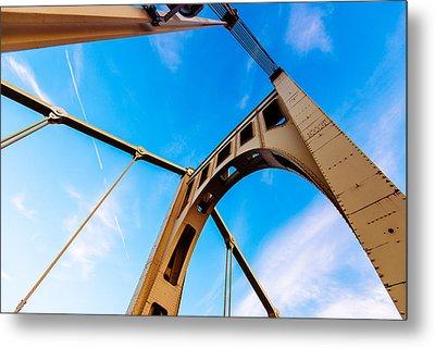 Bridge To The Sky Metal Print