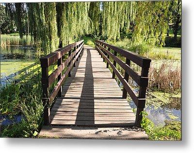 Bridge To Tranquillity Metal Print