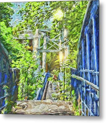 Metal Print featuring the photograph Bridge To Your Dreams by LemonArt Photography
