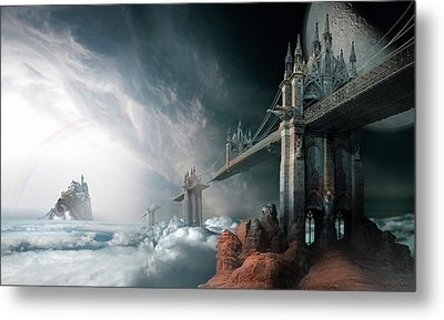 Bridges To The Neverland Metal Print by George Grie