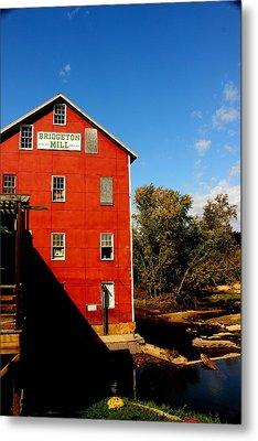 Bridgeton Indiana Mill By Earl's Photography Metal Print by Earl  Eells a