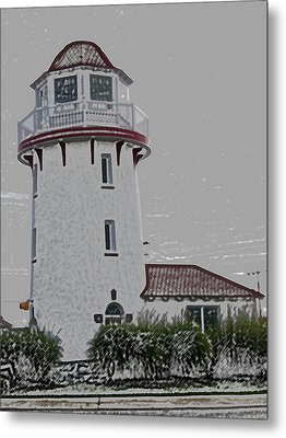 Brigantine Lighthouse Metal Print