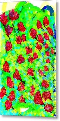 Bright Metal Print by Khushboo N
