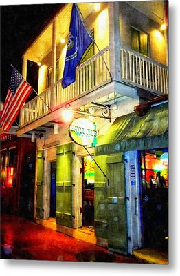 Metal Print featuring the photograph Bright Lights In The French Quarter by Glenn McCarthy Art and Photography