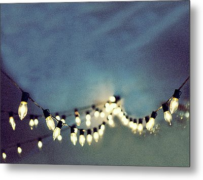 Metal Print featuring the photograph Bright Lights by Rebecca Cozart