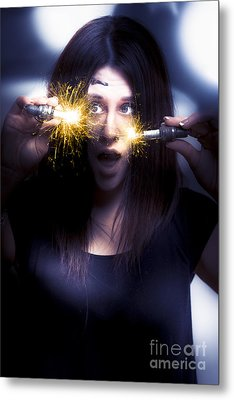 Bright Sparks Metal Print by Jorgo Photography - Wall Art Gallery