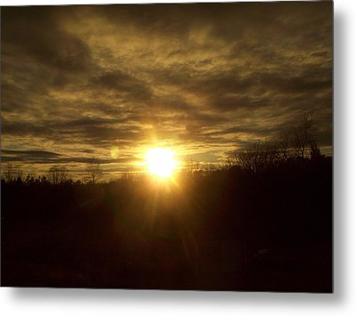 Brightly Dust Metal Print by Robin Coaker