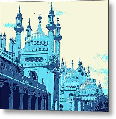 Brighton Pavilion Metal Print