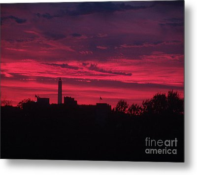 Metal Print featuring the photograph Brilliant Sunset 2 by Rod Ismay