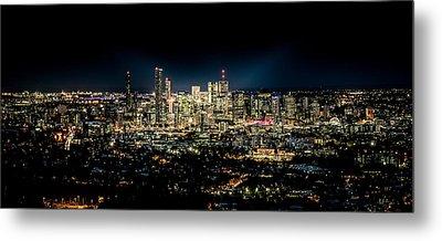Brisbane Cityscape From Mount Cootha #7 Metal Print by Stanislav Kaplunov