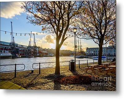 Metal Print featuring the photograph Bristol Harbour by Colin Rayner