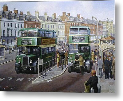 Bristols At Weymouth Metal Print by Mike Jeffries