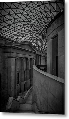 British Museum Metal Print by Martin Newman