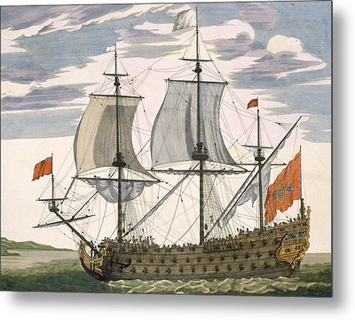 British Navy Metal Print