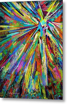 Brittle Enthusiasm Metal Print by Polly Castor