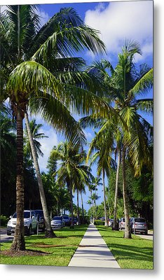 Broad Avenue South, Old Naples Metal Print by Robb Stan
