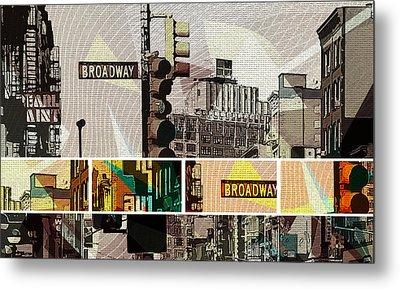 Broadway , New York , 002 Metal Print